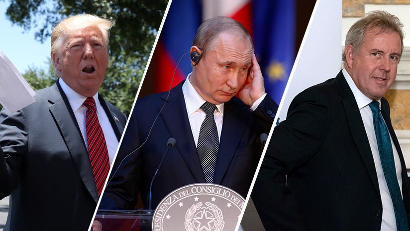 """Trump vs el embajador británico: Londres culpa de las filtraciones a un """"Estado hostil"""" y los medios apuntan a Rusia"""