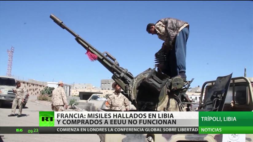 Francia: misiles comprados a EE.UU. que fueron hallados en Libia no funcionan