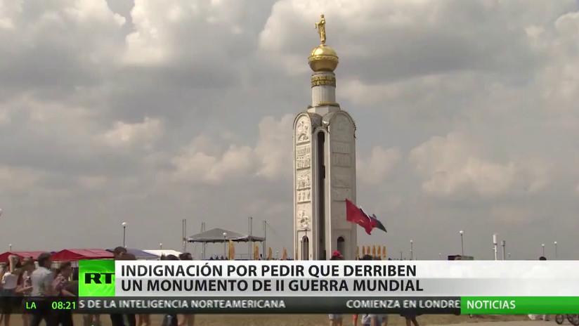 Indignación en Rusia por la propuesta de derribar un monumento de la II Guerra Mundial