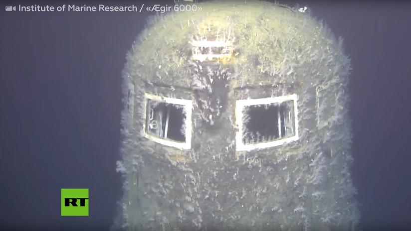 VIDEO: Detectan radiactividad 100.000 veces superior a la normal en el submarino nuclear soviético 'Komsomolets' hundido hace 30 años