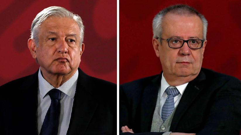 López Obrador reconoce discrepancias con su exsecretario de Hacienda