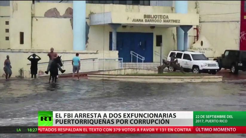El FBI arresta a dos exfuncionarias de Puerto Rico por presunta corrupción