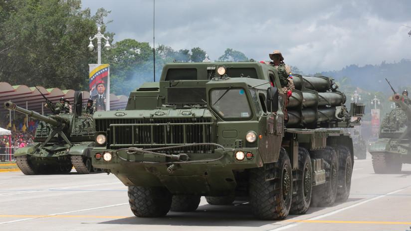 Equipos militares rusos participarán en ejercicios en Venezuela el 24 de julio