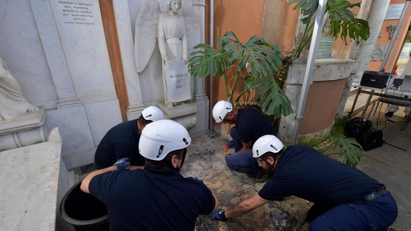 Las tumbas abiertas por el Vaticano para buscar a una menor desaparecida están vacías
