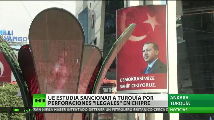 Sopesan en la UE varias medidas contra Turquía por explorar hidrocarburos en Chipre
