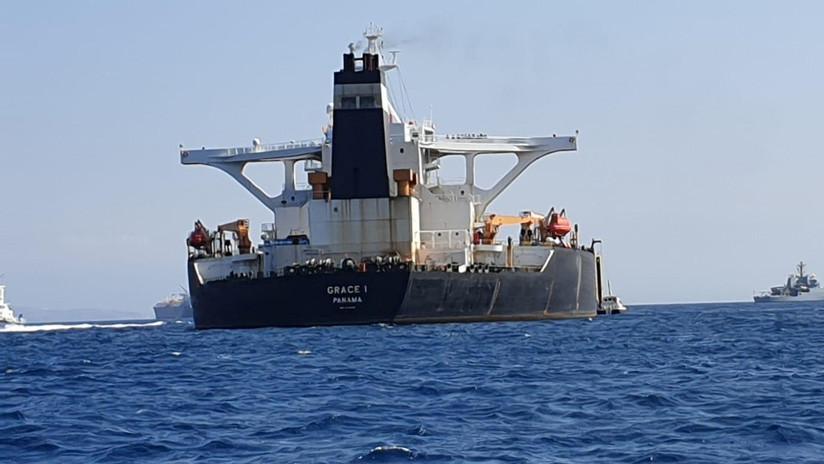 La Policía de Gibraltar detiene al capitán del buque cisterna iraní