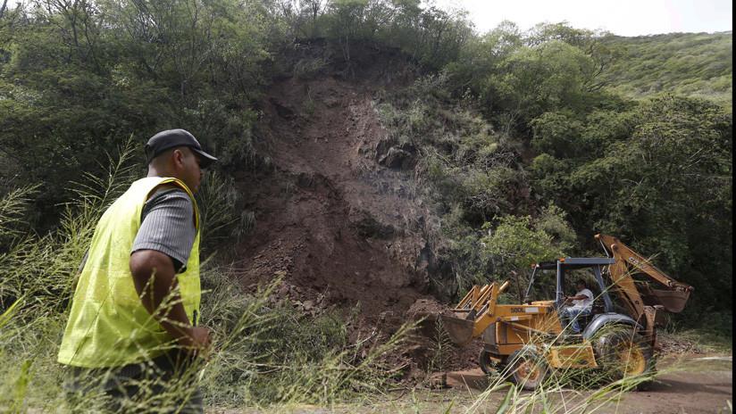 Mueren siete miembros de una misma familia por un deslizamiento de tierra en México
