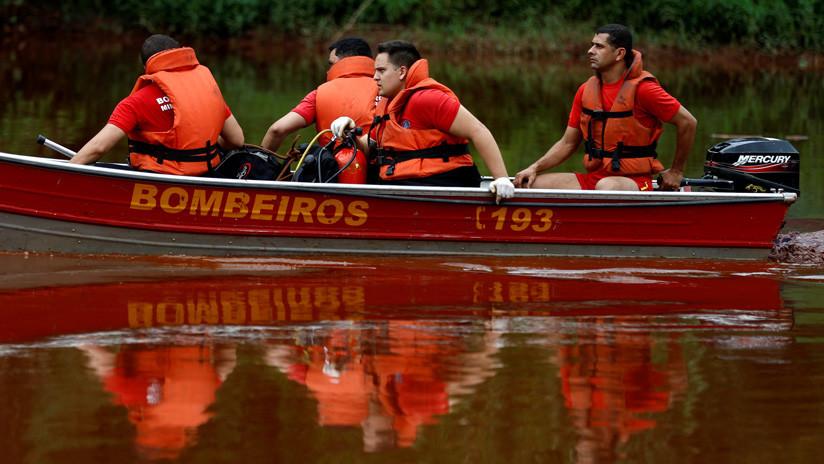 Un dique minero se rompe en el este de Brasil