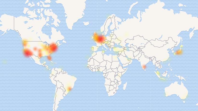 Twitter registra caídas en varias partes del mundo