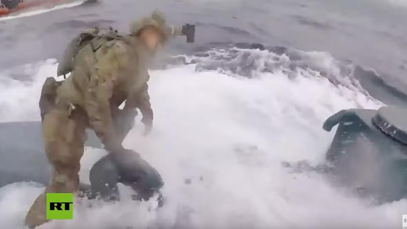 Marinos de EE.UU. atrapan un submarino narco cargado de cocaína