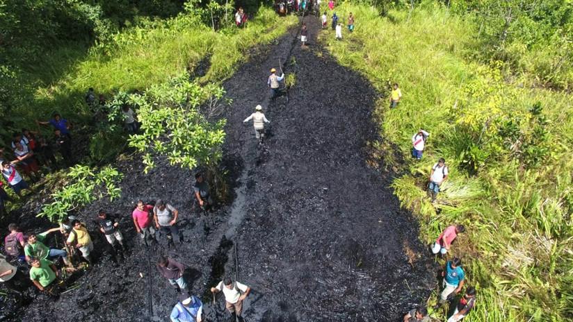 Perú declara el estado de emergencia por un derrame de petróleo en la Amazonía