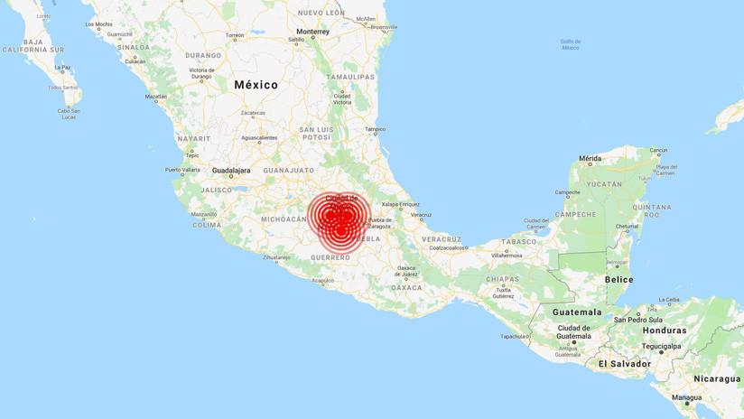 Tres sismos consecutivos sacuden la Ciudad de México en un solo día