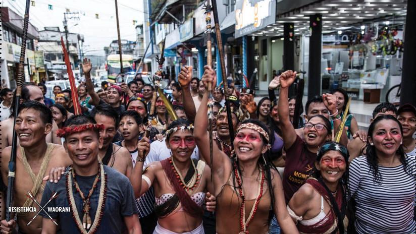 Revés para el Gobierno ecuatoriano: ratifican fallo a favor de los indígenas amazónicos que veta el ingreso de petroleras