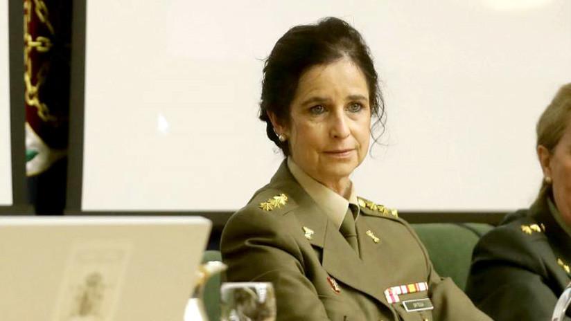 Patricia Ortega, la primera mujer que asciende a general en la historia de las Fuerzas Armadas españolas