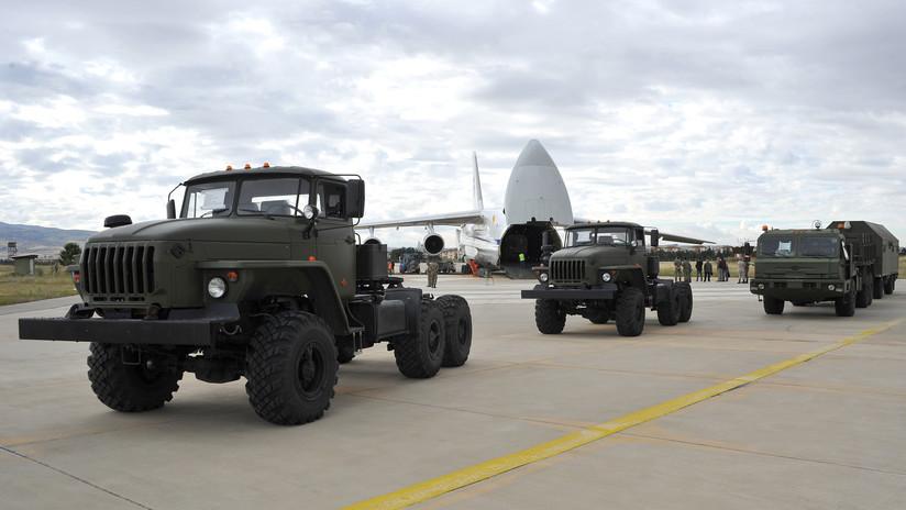 Continúa la entrega de los S-400: Llegan a Turquía tres aviones rusos con componentes para los sistemas antimisiles