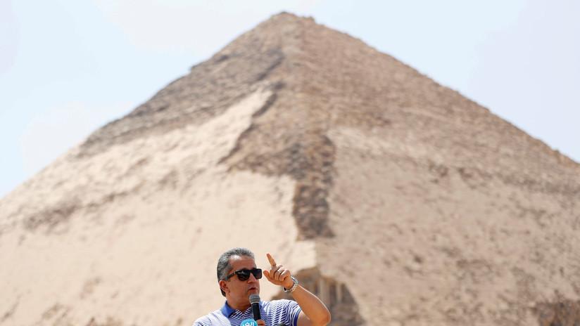 Egipto: Abren al público la famosa pirámide 'acodada' del faraón Seneferu, de 4.600 años de antigüedad