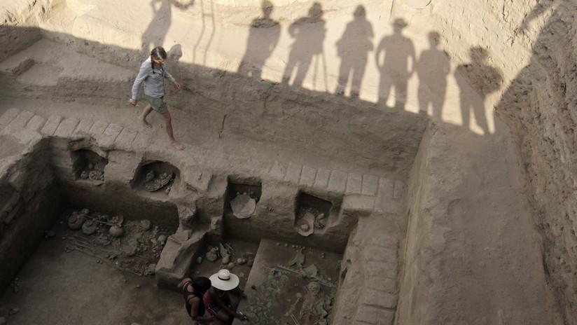 FOTOS: Descubren en China unas raras ruinas cuyo propósito se desconoce de hasta 7.000 años de antigüedad