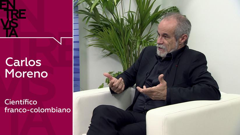 """Carlos Moreno, científico franco-colombiano: """"Si no sacamos la nariz de las redes sociales, probablemente vamos al desastre"""""""