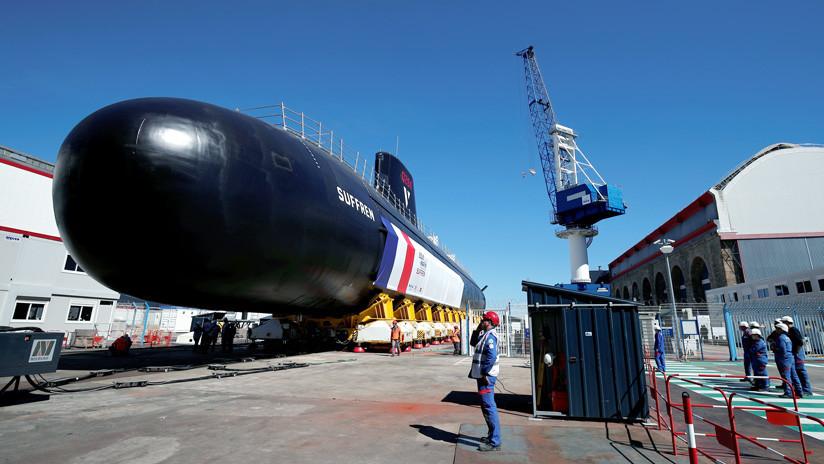 """""""Silencioso como un camarón"""": Francia presenta su nuevo submarino nuclear de la clase Barracuda (VIDEO)"""