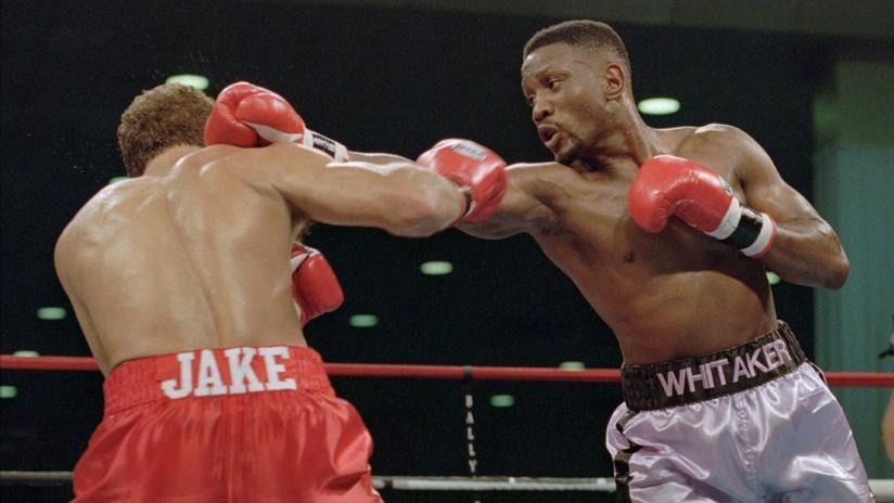 Pernell Whitaker muere atropellado a los 55 años