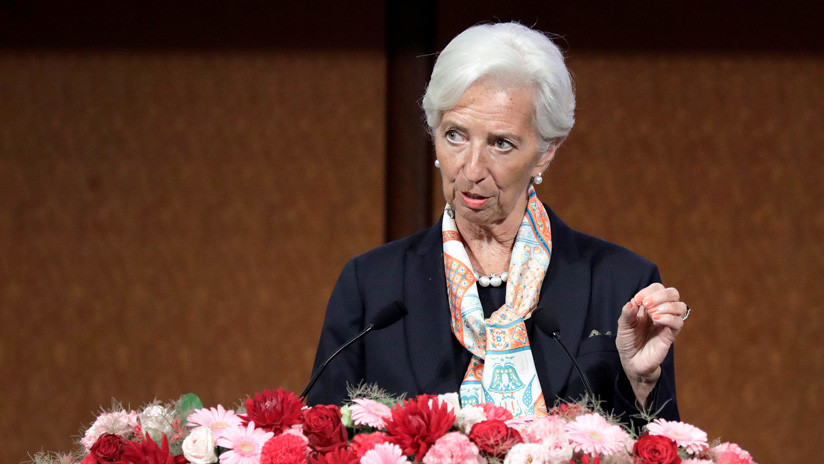Lagarde anuncia que renunciará a su cargo como directora del FMI el próximo 12 de septiembre