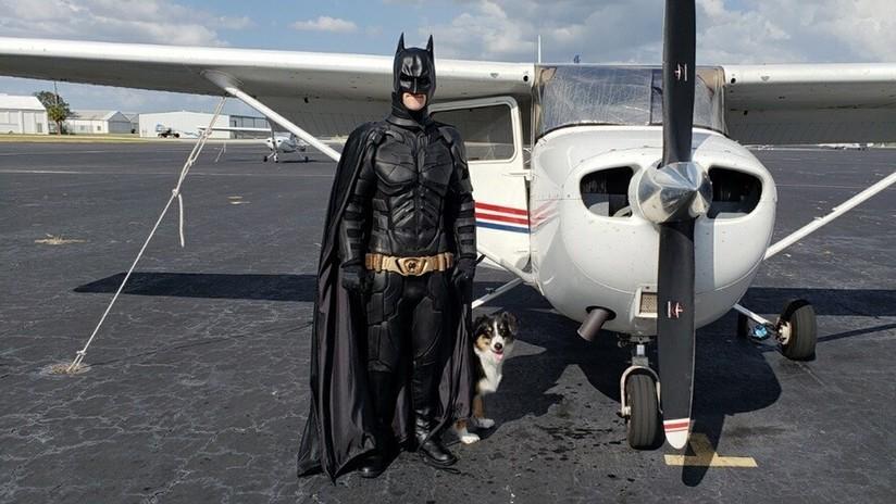 Batman rescata mascotas y les consigue hogar