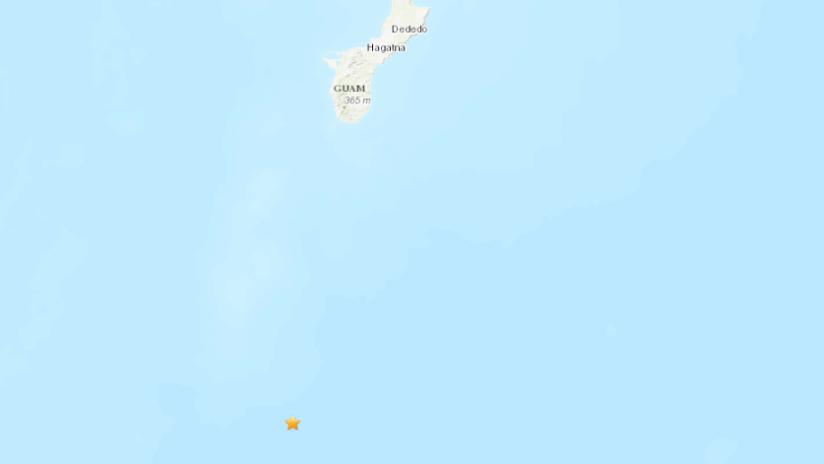 Un sismo de magnitud 5,6 se registra cerca de la isla de Guam
