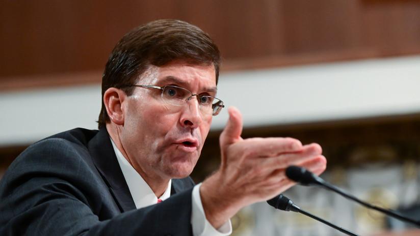 """El nominado a secretario de Defensa de EE.UU. habla de las """"amenazas"""" que suponen China, Rusia e Irán"""