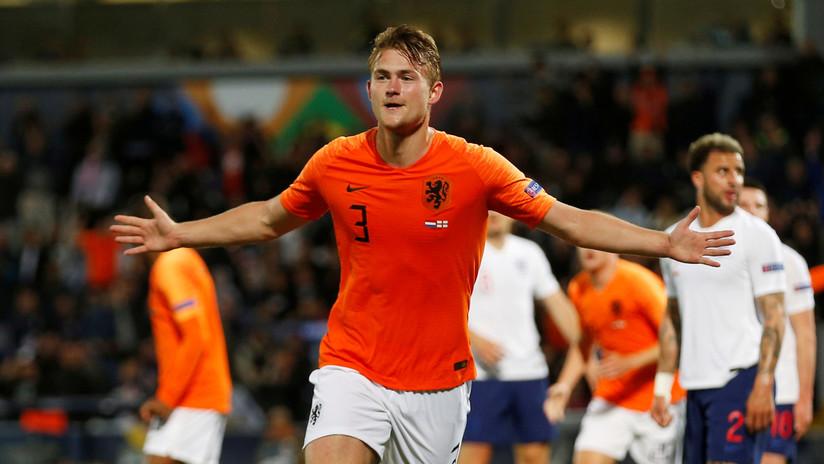 El futbolista holandés Matthijs de Ligt llega a la Juventus por 75 millones de euros