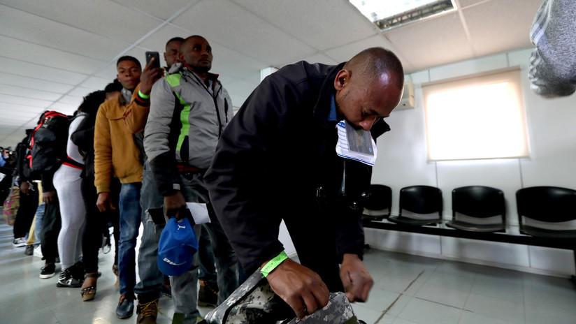 Unos 16.000 haitianos podrían ser expulsados de Chile al vencer el plazo para regularizar su situación migratoria