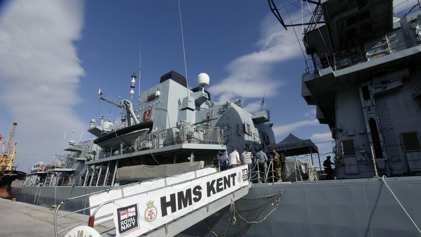 """""""Superposición ocasional de naves"""": el Reino Unido envía un tercer buque de guerra al golfo Pérsico"""