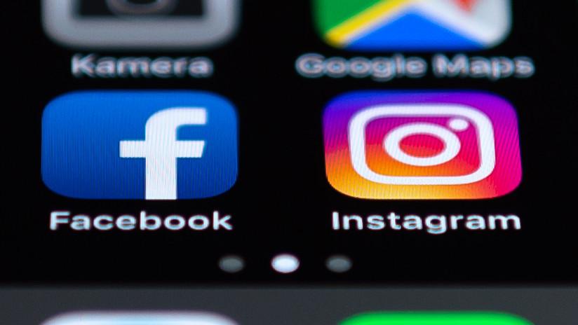 Se registra una caída de Facebook e Instagram en varios países del mundo