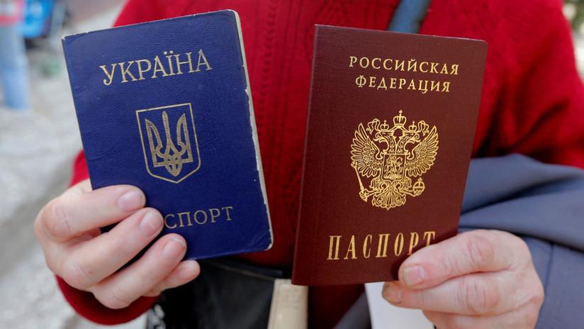 Rusia simplifica concesión de la nacionalidad para los residentes de dos provincias del este de Ucrania