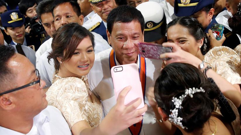 """Duterte aprueba una ley contra el acoso sexual y será """"el primero en acatarla"""""""