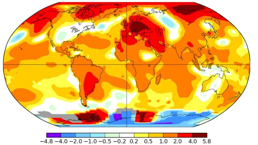 NASA: Este junio ha sido el más caluroso jamás registrado