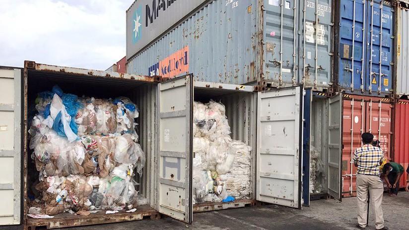 """""""Camboya no es un vertedero"""": la nación asiática devolverá 83 contenedores con basura a EE.UU. y Canadá"""