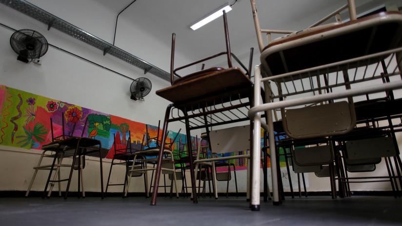 Una escuela de Argentina se derrumba y sus alumnos se salvan por estar de vacaciones