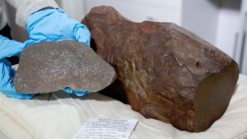 Guarda una roca durante años pensando que era oro y resulta que es un raro meteorito
