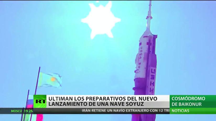 Finalizan los preparativos para un nuevo lanzamiento de una nave espacial Soyuz rumbo a la EEI