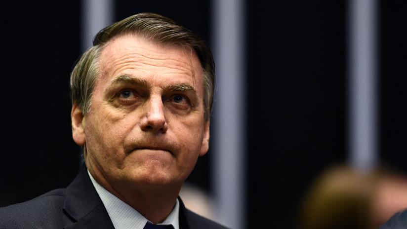 """Bolsonaro defiende el nombramiento de su hijo como embajador en EE.UU: """"¿Es competente o no?"""""""