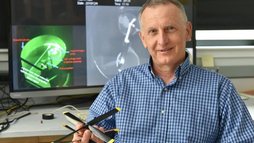 VIDEO: Científicos logran por primera vez hacer volar una hélice con viento iónico