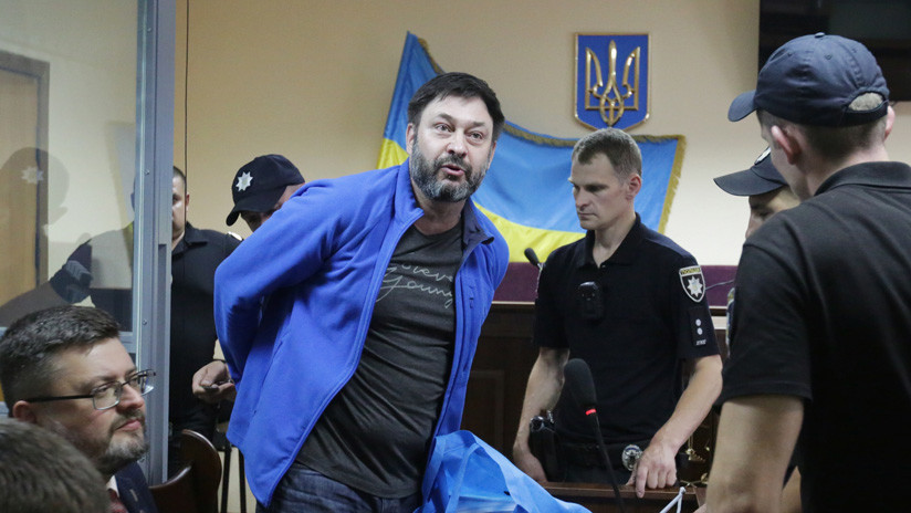 Un tribunal de Kiev prorroga el arresto al jefe de la agencia de noticias RIA Novosti Ukraína tras más de un año en prisión
