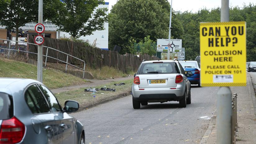 VIDEO, FOTOS: Muestra de autos termina con un choque a alta velocidad y 17 espectadores heridos