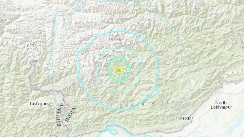 Cuatro terremotos de magnitud de hasta 5,6 se registran el noreste de la India en menos de 24 horas