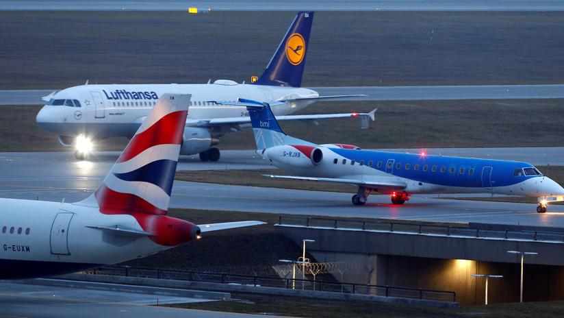 Lufthansa y British Airways suspenden los vuelos a El Cairo por razones de seguridad