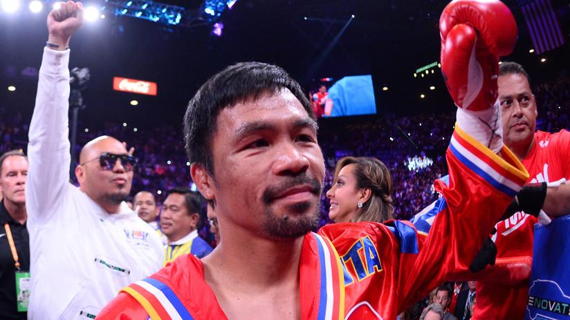 VIDEO, FOTOS: La leyenda filipina del boxeo Manny Pacquiao se convierte en campeón mundial por novena vez tras derrotar a Keith Thurman