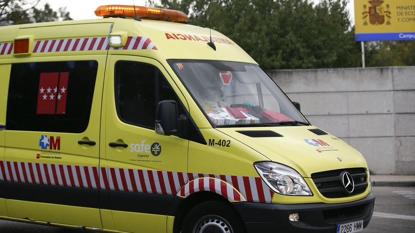 Taxista español alerta de un accidente con 3 muertos y se entera de que una de las víctimas era un familiar