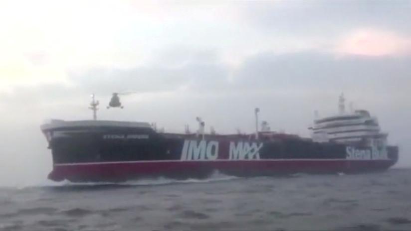 AUDIO: Publican conversación entre buques militares de Irán y el Reino Unido momentos antes de la incautación del petrolero Stena Impero