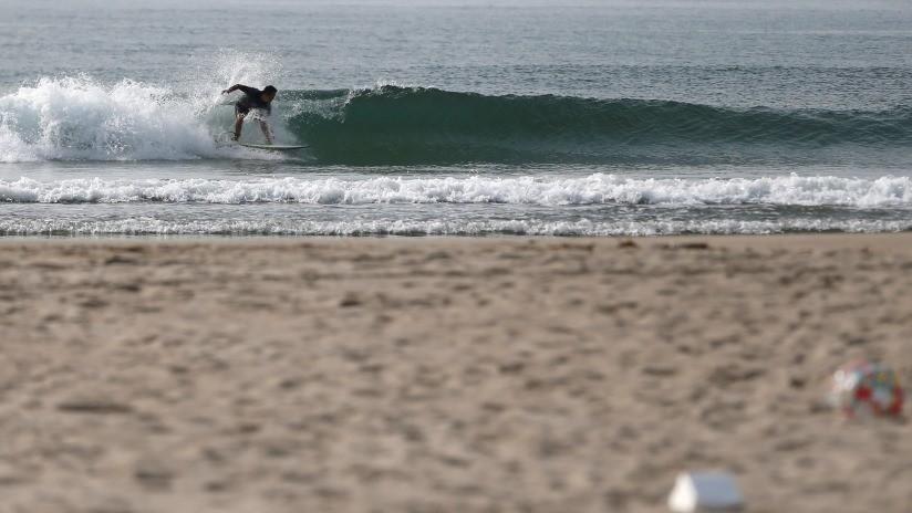 Reabren tras ocho años una playa de Fukushima