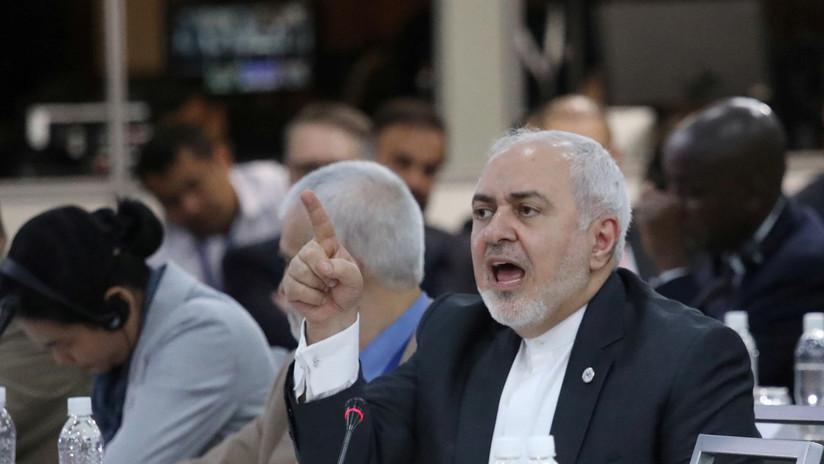 """Zarif: """"Las sanciones de EE.UU. contra Irán son terrorismo económico"""""""